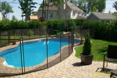 Clôture de piscine amovible | Pool Guard | Removable pool fence | photo01