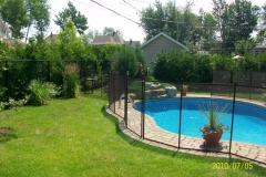 Clôture de piscine amovible | Pool Guard | Removable pool fence | photo03