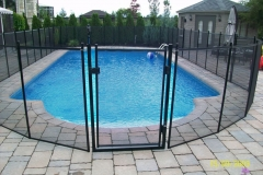 Clôture de piscine amovible | Pool Guard | Removable pool fence | photo04