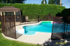 Clôture de piscine amovible | Pool Guard | Removable pool fence | photo06