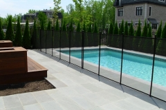 Clôture de piscine amovible | Pool Guard | Removable pool fence | photo08