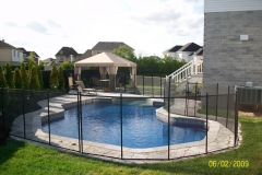 Clôture de piscine amovible | Pool Guard | Removable pool fence | photo19