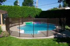Clôture de piscine amovible | Pool Guard | Removable pool fence | photo23