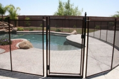 Clôture de piscine amovible | Pool Guard | Removable pool fence | photo27