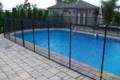 Clôture de piscine amovible | Pool Guard | Removable pool fence | photo37