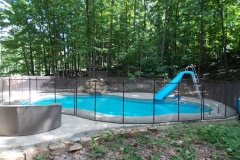 Clôture de piscine amovible | Pool Guard | Removable pool fence | photo38