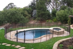 Clôture de piscine amovible | Pool Guard | Removable pool fence | photo41
