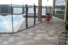 Clôture de piscine amovible | Pool Guard | Removable pool fence | photo42