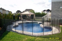 Clôture de piscine amovible | Pool Guard | Removable pool fence | photo45