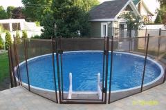 Clôture de piscine amovible | Pool Guard | Removable pool fence | photo69